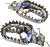 MOTOCROSS-Titanium Foot Pegs (ASF)