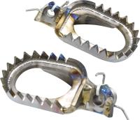 MOTOCROSS-Titanium Foot Pegs E type (ASF)