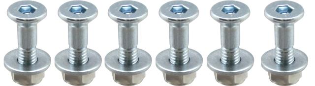 後齒盤固定螺絲 + U型螺帽 M8x31mm (ASOT)