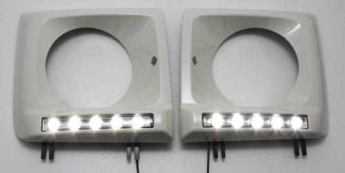 HEAD LAMP RIM W/DRL