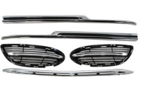 Cens.com FRONT+REAR BUMPER CHROME MOLDING HOWELL AUTO PARTS & ACCESSORIES LTD.