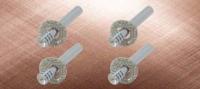镶水晶车门锁