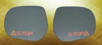 Sideview Mirror Glass W/LED