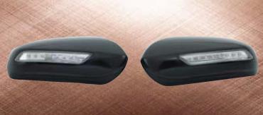 车镜总成 + LED