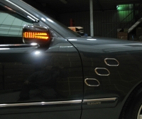 Door Mirror Cover w/Light (arrow type) + Manneer Light