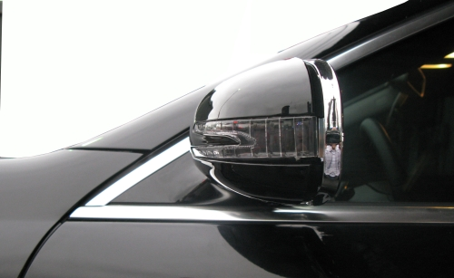 后视镜盖+箭型方向灯
