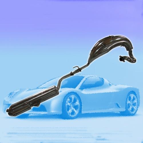 越野車排氣管