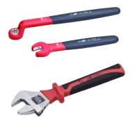 VDE Spanners and Adjustable wrench