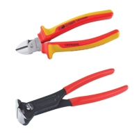 VDE Pliers and dipped handle pliers