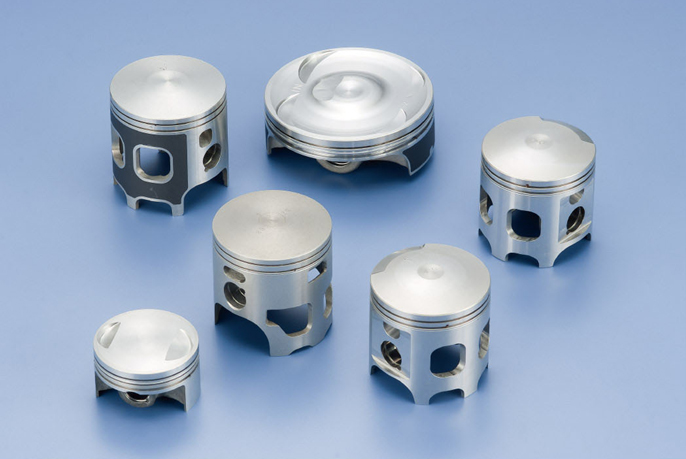 Forged pistons