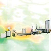 環保型兩段式過水切膠粒製造機