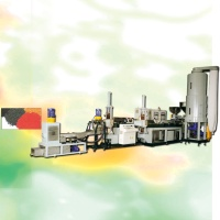 Two-step Combination Watev-Ring Cutting Recycling & Pelletizing Machine