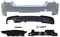 REAR BUMPER FOR 14-15 LCI F-10, (M-PERFORMANCE LOOK)