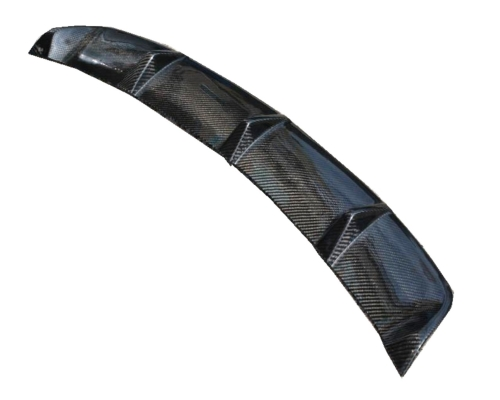 DRY CARBON REAR DIFFUSER COVER FOR 13-ON W-117 CLA-45 A=G BUMPER USE