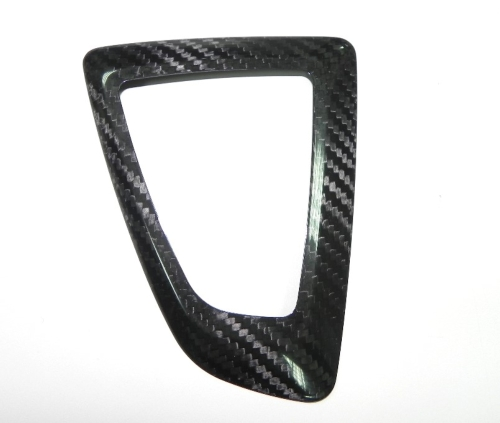 DRY CARBON GEAR FRAME COVER FOR 12-ON F-20 & F-30