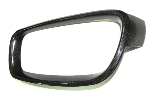 DRY CARBON GRILLE COVER FOR 12-ON F-30, (2PCS/SET)