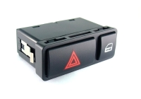 HAZARD WARNING SWITCH WITH CENTRAL LOCK FOR E-46, E-53, E-85, E-86