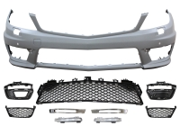 FRONT BUMPER FOR 12-ON W-204 C=63 LOOK
