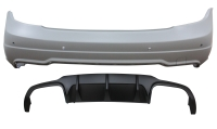 REAR BUMPER FOR 12-ON W-204 C=63 LOOK
