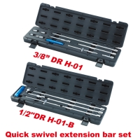 Quick Swivel Extension Bar Set