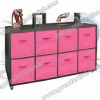 (L size)Multi-function cabinet with 8non woven drawers