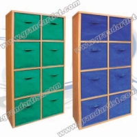 (M size)Multi-function cabinet with 8non woven drawers