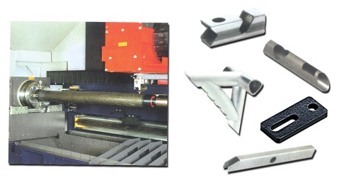 Screws, Laser Cutting Machine, Parts for Rubber Processing Machines