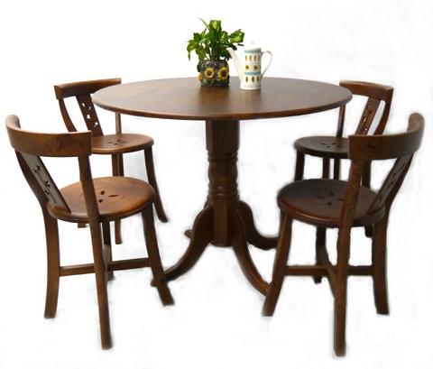 餐桌椅/一桌四椅