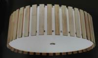 Flush-mounted ceiling lamp