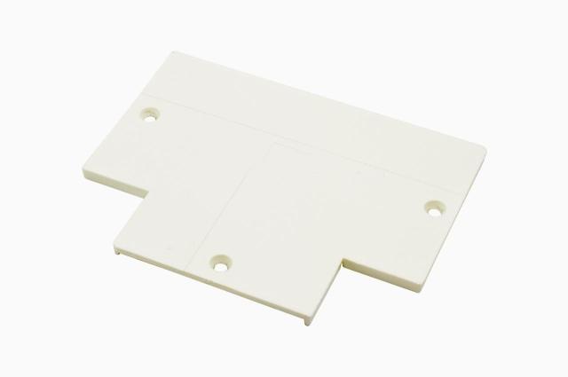 隐藏式 T连接头背盖  四线/三回路 轨道灯配件