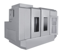 Sheet-metal housing for machinery