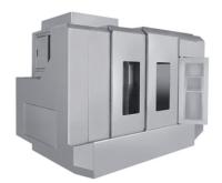 Sheet-metal housing for machinery