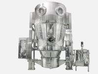Granulating Machine With Moving Spray-Dry Device