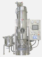 Lab-use Granulator With Moving Spray-dryer
