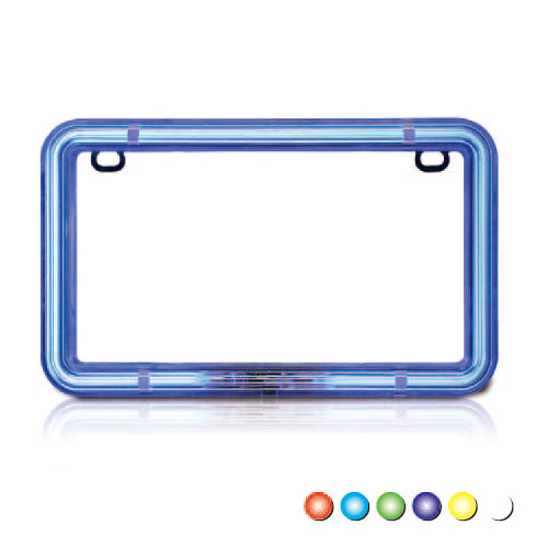Neon License Frame