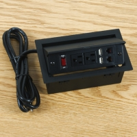 Cens.com Built-In-Type Power Strips, Extension Cords for Conference Desks JE SHI INDUSTRIAL CO., LTD.