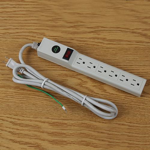 電腦3孔插座延長線(含開關)