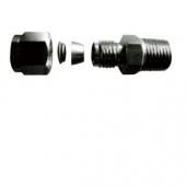 Fitting Tube Double(Stainless)