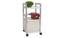 Single-door Storage Cabinet (1.2 ft. wide) w/Casters