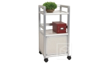 Single-door Storage Cabinet (1.2 ft. wide) w/Casters