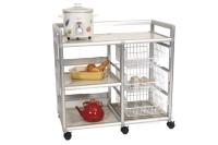 Door-less Dish Dryer Cart (3.2  ft. wide)