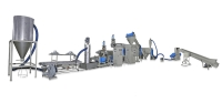 PE WASTE PLASTIC RECYCLING MAKING MACHINE