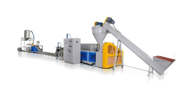 ABS/PP/PE WASTE PLASTIC RECYCLING MAKING MACHINE