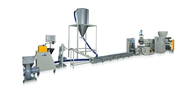 EPS PLASTIC RECYCLING MAKING MACHINE