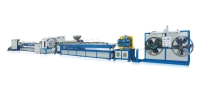 PVC包纱软管制造机