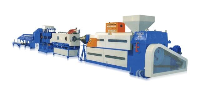 PVC塑膠硬質管製造機