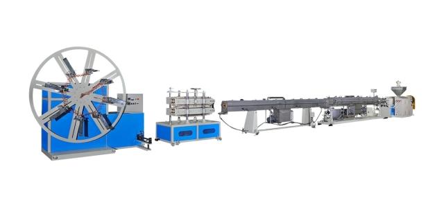 PE/LDPE塑膠硬質管製造機