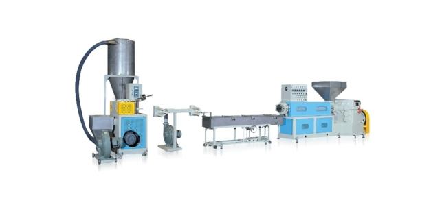 塑胶粒制造机