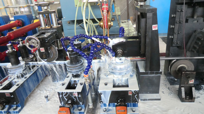 H.F. Pipe Making Machine
