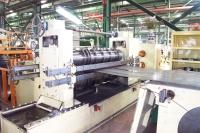 Automatic steel sheet slitting machine